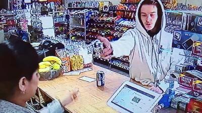 La sorpresa que se llevó un ladrón al asaltar a una vendedora