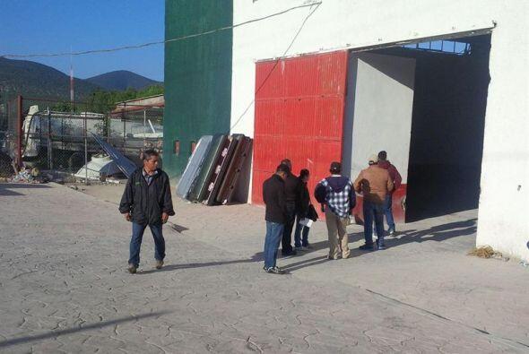 Fotografía cedida por autoridades del municipio de Mazapil de familiares...
