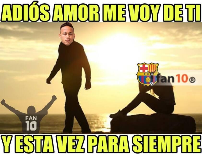 En memes: Neymar se inclina por los millones del PSG 20479698_1522456447...