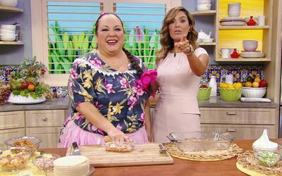 Prepara tú mismo esta exquisita Lasaña de Tortillas con Frijoles y Chich...