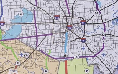 Empieza la construcción de un nuevo proyecto vial en el condado Brazoria