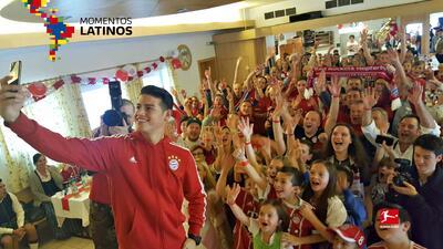 James Rodríguez, el regalo de Navidad del Bayern Múnich a sus aficionados