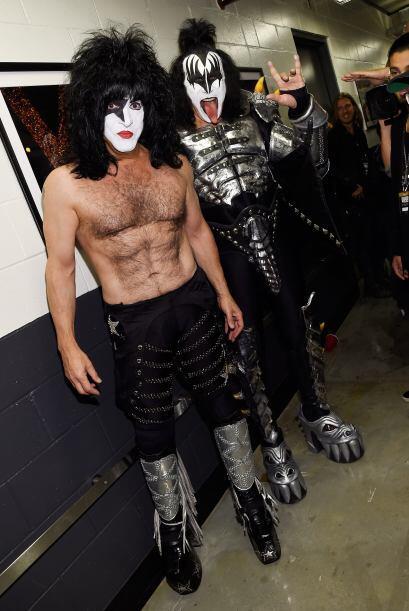 Kiss también le puso un toque muy especial a esta gran noche.