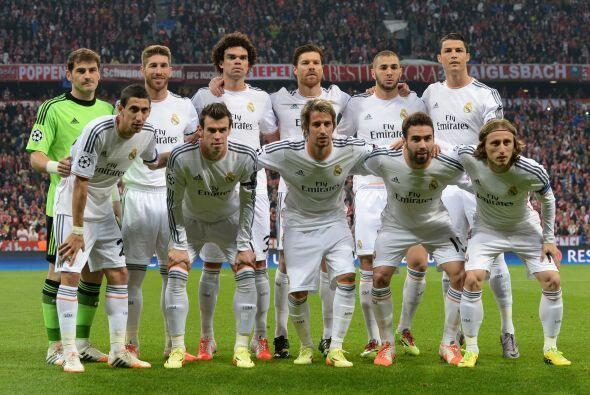 Real Madrid a logrado el máximo titulo continental en 9 ocasiones