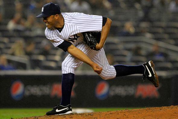 Cerrador: El panameño de los Yankees Mariano Rivera logró 10 rescates y...