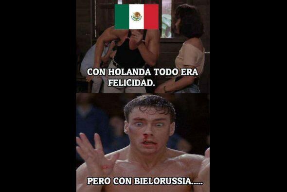 Los aficionados no perdonaron la derrota de la selección mexicana ante B...