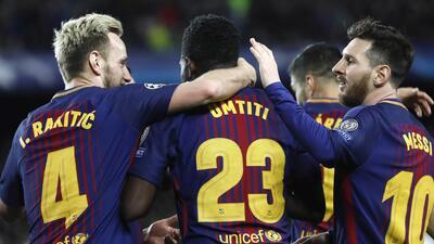 En fotos: Barcelona, sin brillar, goleó a la Roma y dio un gran paso a las Semifinales de Champions