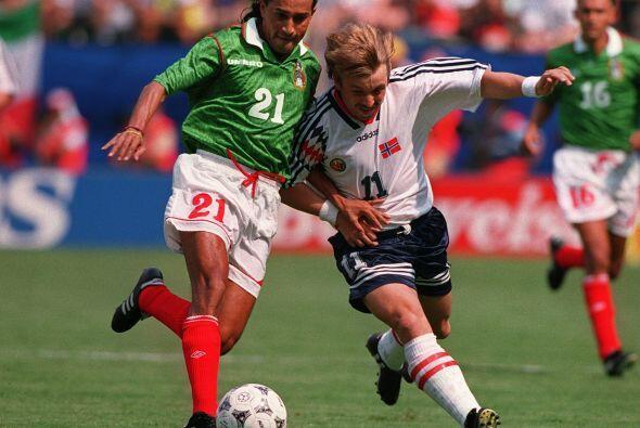 El primer juego del Tri fue ante la Selección de Noruega, donde México c...