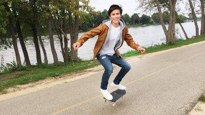 ¿Por qué la pasión de Edward Baeza son las patinetas?