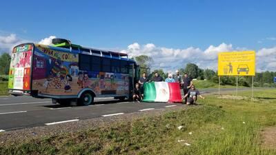 Conoce a 'La Bendición', el autobús mexicano que llegó a tierra mundialista