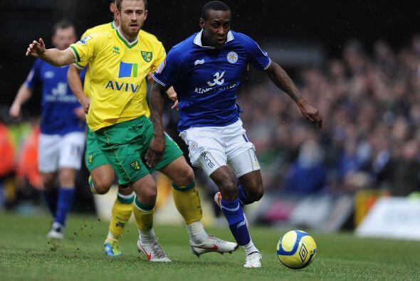 El Norwich cayó, de local, 2 a 1 ante el Leicester.