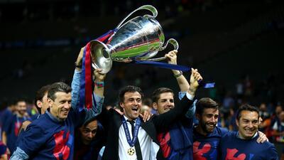 En fotos: los títulos que ha conseguido Luis Enrique como entrenador del Barcelona