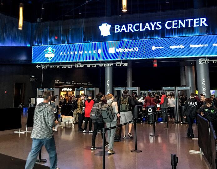 Barclays Center, estadio de los Brooklyn Nets