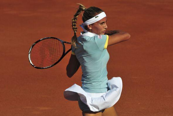Dulko es la mejor representante de Latinoamérica en la WTA, no sólo por...