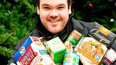 Cu00f3mo donar comida durante la temporada de fiestas
