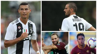 Juventus se armó: los 15 fichajes más caros de la Serie A para su temporada que está por iniciar