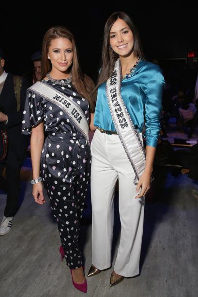 La actual Miss Universo, Paulina Vega, ha estado muy al pendiente de las...