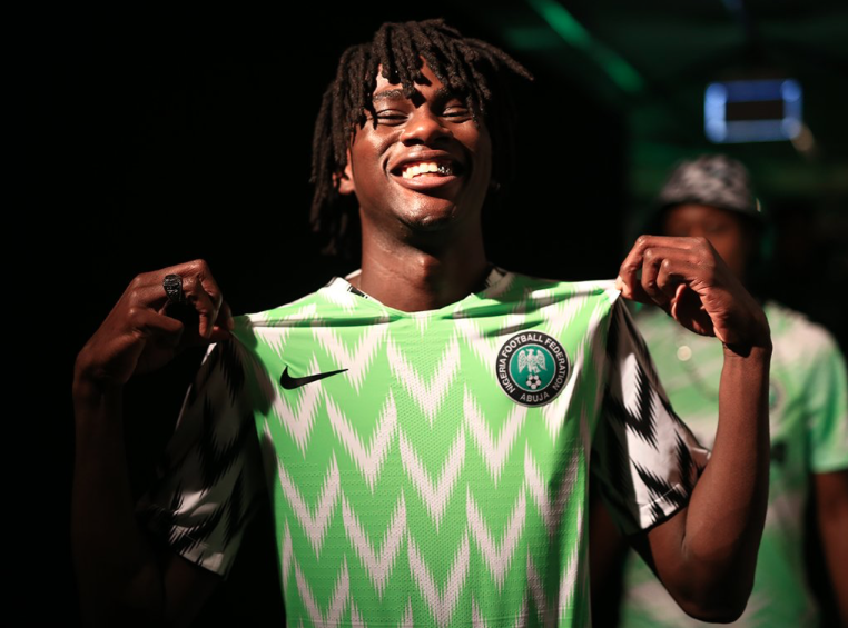 Nigeria y la costumbre de los equipos africanos de tener bellas y únicas...