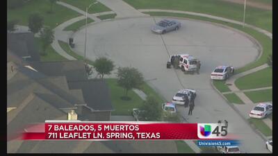Cinco muertos y dos heridos tras balacera en una casa