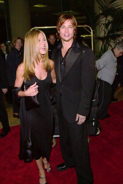 En febrero de 2000, fueron muy coordinaditos en negro a un homenaje a Ha...