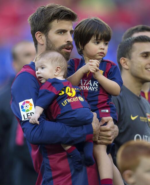 Milan, Sasha y Thiago