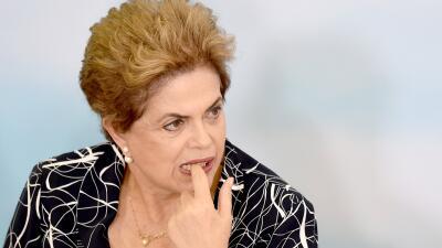 Rousseff podría ser apartada de la Presidencia la próxima semana.