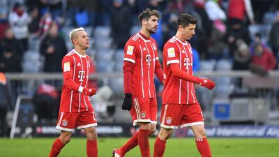 En fotos: Bayern Munich no pasó del empate contra Hertha Berlín en la Bundesliga