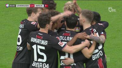 Kevin Volland abrió el marcador a favor del Bayer Leverkusen