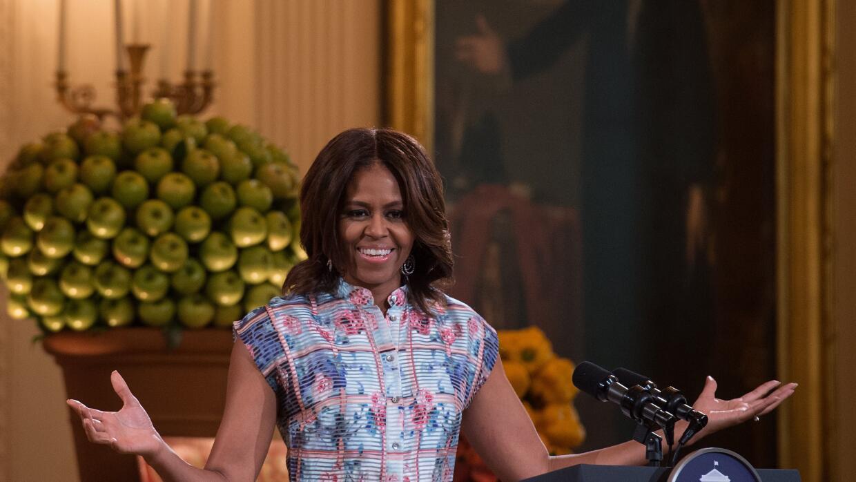Michelle Obama en la Cena de Estado para niños del 2015