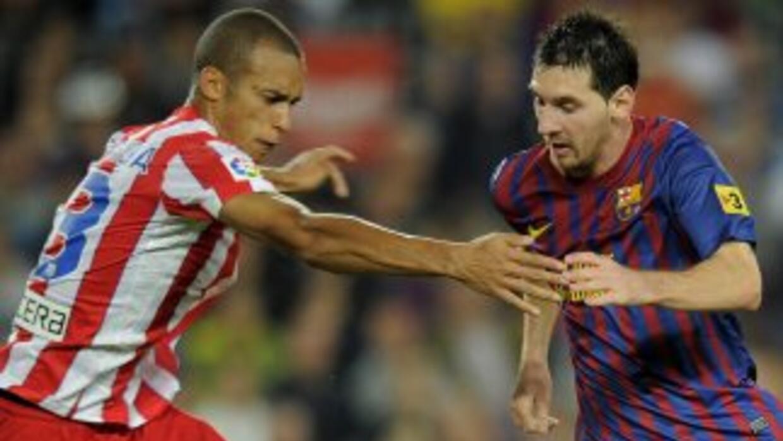 El defensa de los 'Colchoneros' prefiere no tener que marcar a Messi par...