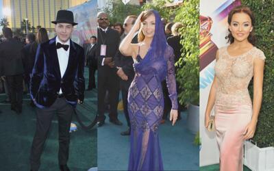 Fashionometro rumbo a Latin GRAMMY: ¿en qué pensaban estos famosos?
