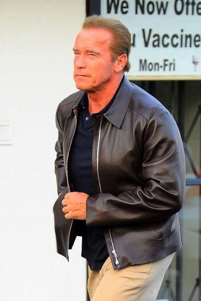 Como coincidencia, unos días atrás, vimos a Arnold Schwarzenegger.