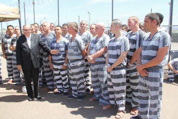 El alguacil dijo que estos presos deben ser elogiados por este acto de g...