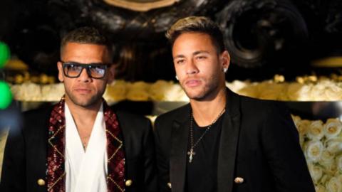 Neymar, Dani Alves