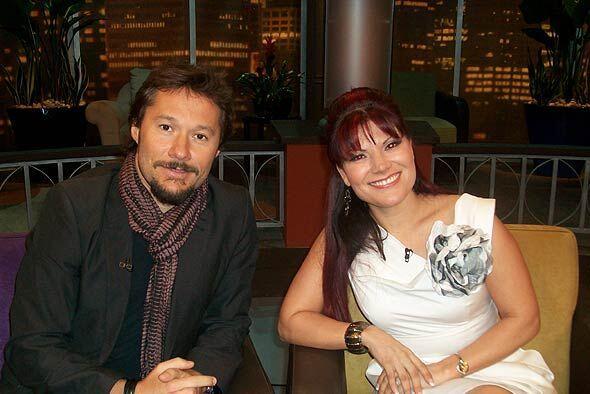 Diana Reyes y Diego Torres le ofrecieron su música a las madres.