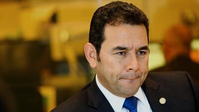 Al llegar al poder en enero de este año, Jimmy Morales prometi&oa...
