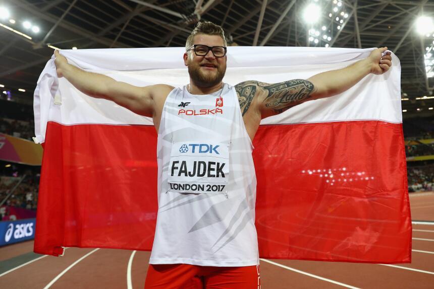 Pawel Fajdek (Polonia) / Lanzamiento de Martillo
