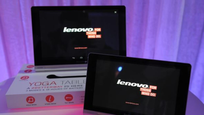 La Lenovo Yoga está disponible en versiones de 8 y de 10.1 pulgadas.