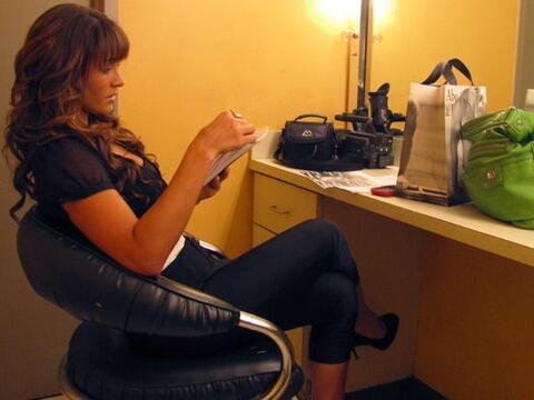 Melissa Marty se preparó con calma y confianza antes de iniciar &...