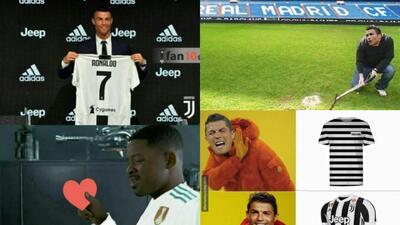Memelogía | Las burlas tras la presentación de Cristiano Ronaldo como jugador de Juventus