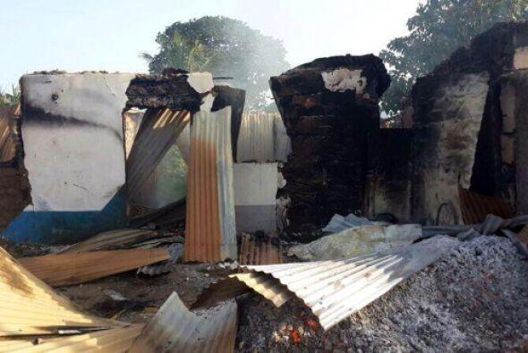 """Mpeketoni amaneció hoy como """"una ciudad fantasma""""."""