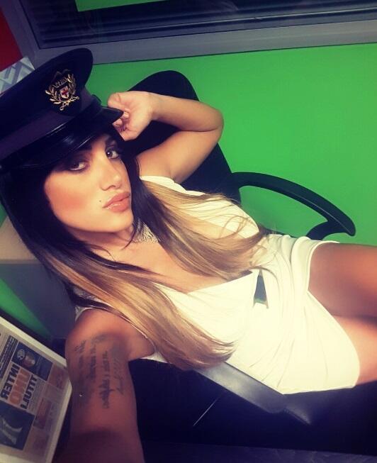 La italiana es una conocida presentadora de televisión que es gran fanát...