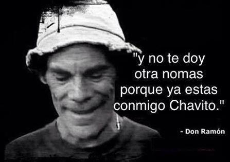 Muchos memes hacen alusión al reencuentro entre Don Ramón, interpretado...
