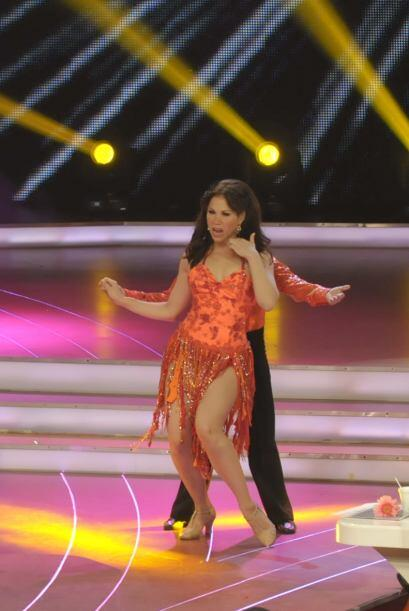 Bianca Marroquín bailó por segunda vez pero esta ocasi&oac...