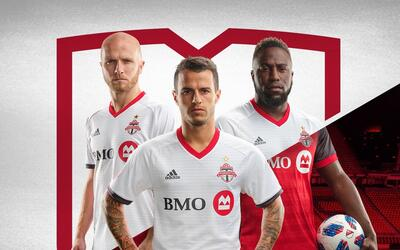 Toronto FC uniforme alternativo 2018