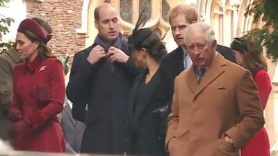 Esta es la historia detrás del video del príncipe William supuestamente ignorando a Meghan Markle
