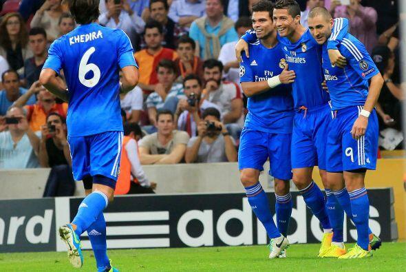 En la Liga de Campeones de la UEFA Cristiano Ronaldo consiguió imponer u...