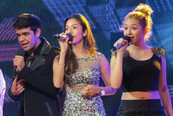 Espiridión, Virginia y Paloma, del team de Jencarlos.