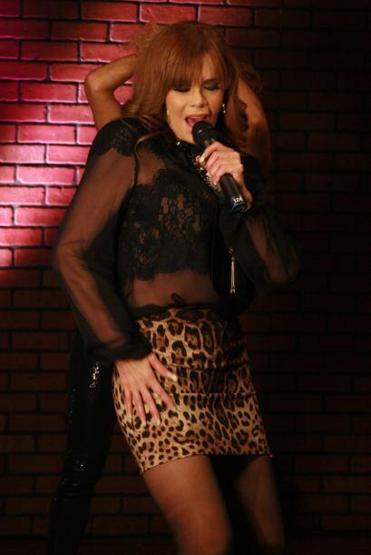 En el show demostró que además de talentosa y profesional se entrega en...