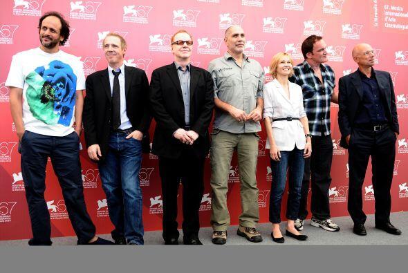 Dio inicio el 67 Festival de Cine de Venecia en donde participan como ju...